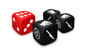 1 Movement Dice / 3 Action Dice